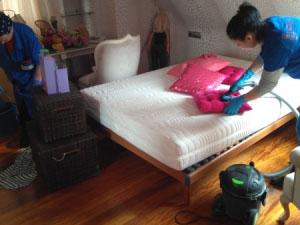 Limpieza obra piso Vigo, Rotil