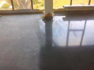 Pulido terrazo geriátrico Creciente, Rotil